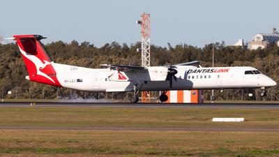 A picture of VHLQJ - De Havilland Canada Dash 8400 - Qantas - © Brodie Lawson