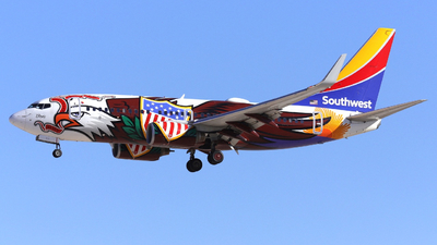 N918WN - Boeing 737-7H4 - Southwest Airlines