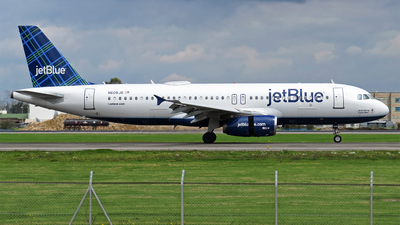 N608JB - Airbus A320-232 - jetBlue Airways