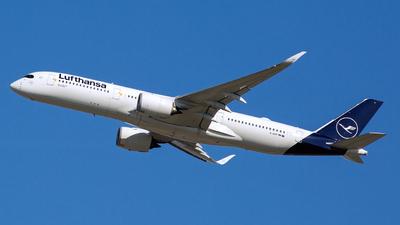D-AIXP - Airbus A350-941 - Lufthansa
