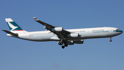 B-HXK - Airbus A340-313X - Cathay Pacific Airways