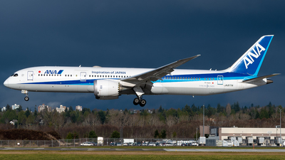 A picture of JA877A - Boeing 7879 Dreamliner - All Nippon Airways - © Derek MacPherson