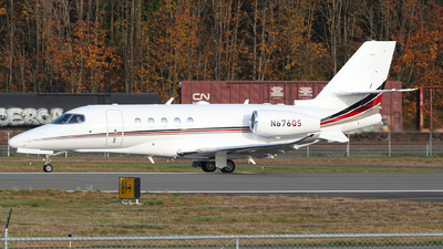 N676QS - Cessna 560XL Citation Excel - NetJets Aviation