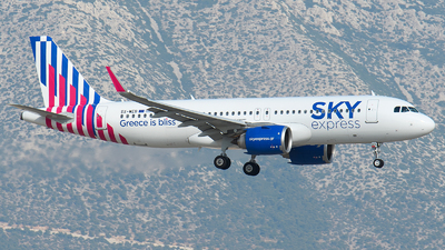 A picture of SXWEB - Airbus A320251N - Sky Express - © EFS.PAN