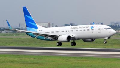 A picture of PKGMW - Boeing 7378U3 - Garuda Indonesia - © M. Raykahn Ariga