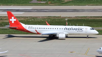 HB-JVU - Embraer 190-100LR - Helvetic Airways
