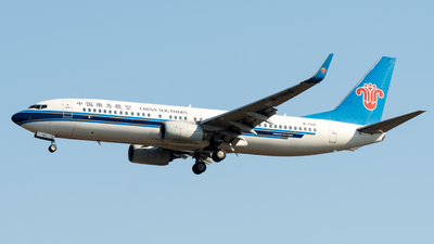 A picture of B1918 - Boeing 73781B - China Southern Airlines - © miCHAel TAN