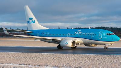 A picture of PHBGG - Boeing 7377K2 - KLM - © Adam Lanzen