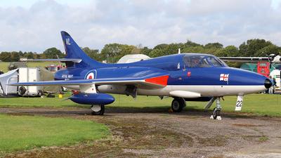 G-BZSE - Hawker Hunter T.8B - Private