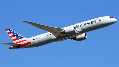 A picture of N838AA - Boeing 7879 Dreamliner - American Airlines - © Eddie Heisterkamp