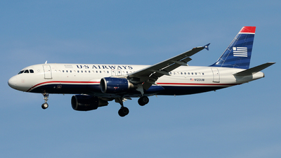 N123UW - Airbus A320-214 - US Airways