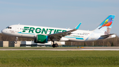 A picture of N317FR - Airbus A320251N - Frontier Airlines - © Davin Amy