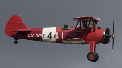 G-BTFG - Boeing A75N Stearman - TG Aviation
