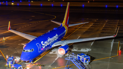 A picture of N470WN - Boeing 7377H4 - Southwest Airlines - © Elliott F Martin