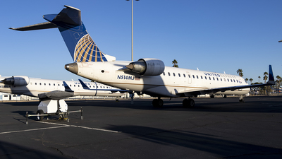 A picture of N514MJ - Mitsubishi CRJ701ER - United Airlines - © xuxinyi1000