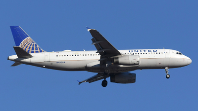 A picture of N490UA - Airbus A320232 - United Airlines - © DJ Reed - OPShots Photo Team