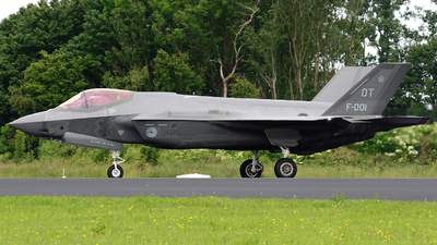 F-001 - Lockheed Martin F-35A Lightning II - Netherlands - Royal Air Force