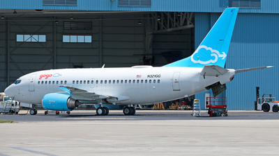 N321GG - Boeing 737-5H6 - Private