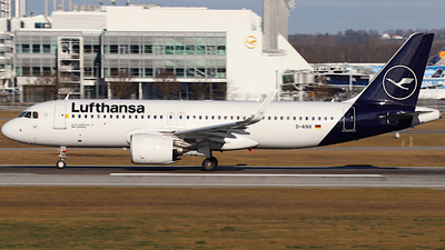 A picture of DAINX - Airbus A320271N - Lufthansa - © ms spot