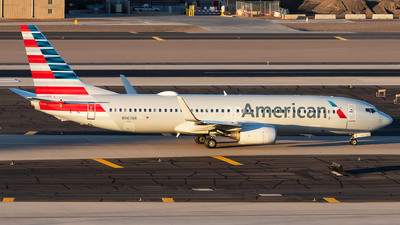 A picture of N967AN - Boeing 737823 - American Airlines - © Luke Dogan