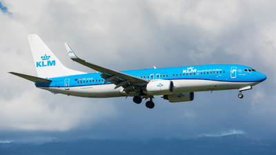 A picture of PHBXM - Boeing 7378K2 - KLM - © Jeremy Denton