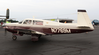 N7769M - Mooney M20F - Private