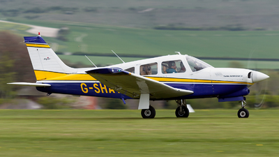 G-SHAY - Piper PA-28R-201T Turbo Cherokee Arrow III - Private
