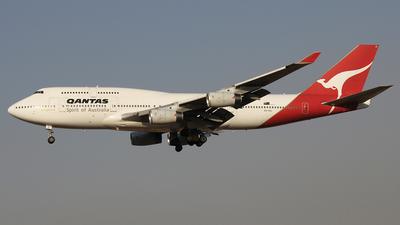 VH-OJL - Boeing 747-438 - Qantas