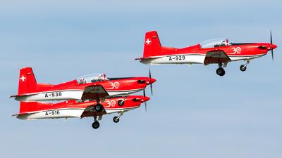 A-929 - Pilatus PC-7 - Switzerland - Air Force