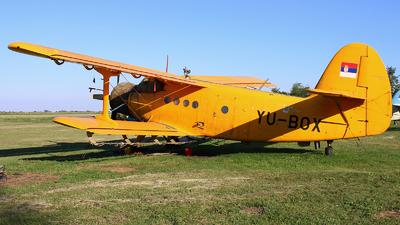 YU-BOX - PZL-Mielec An-2 - Ciklonizacija DDD - Novi Sad