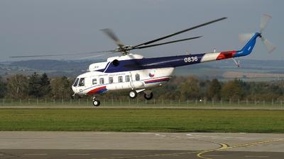 0836 - Mil Mi-8PS Hip - Czech Republic - Air Force