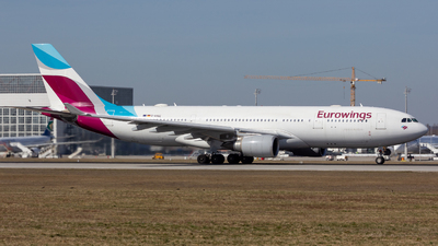 D-AXGE - Airbus A330-202 - Eurowings