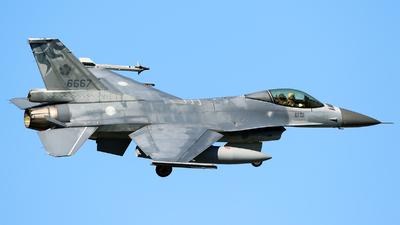 6667 - General Dynamics F-16A Fighting Falcon - Taiwan - Air Force