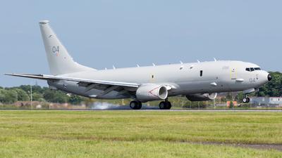 ZP804 - Boeing P-8A Poseidon - United Kingdom - Royal Air Force (RAF)