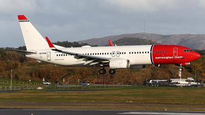 A picture of SERPM - Boeing 7378JP - Norwegian - © R.Rimestad