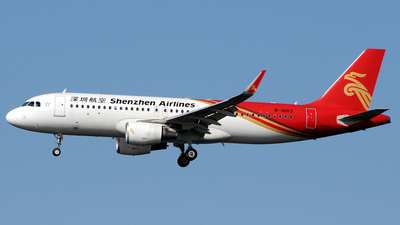 A picture of B1683 - Airbus A320214 - Shenzhen Airlines - © Kinmei