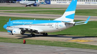LV-CYN - Boeing 737-7Q8 - Aerolíneas Argentinas