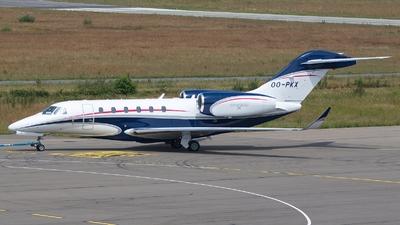 OO-PKX - Cessna 750 Citation X - Private