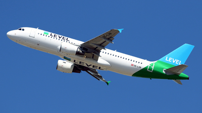OE-LVR - Airbus A320-214 - Level (Anisec)