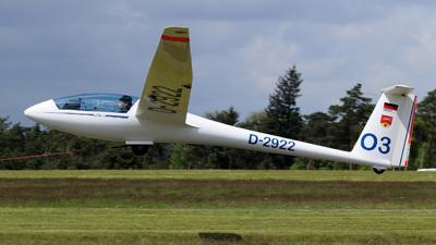 D-2922 - Rolladen Schneider LS-4 - Private