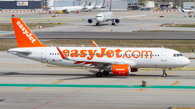 G-EZWV - Airbus A320-214 - easyJet