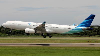 A picture of PKGPX - Airbus A330343 - Garuda Indonesia - © Francesco Andrae