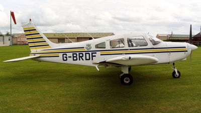 G-BRDF - Piper PA-28-161 Cherokee Warrior II - Private