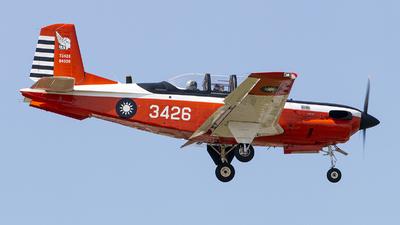 3426 - Beechcraft T-34C Turbo Mentor - Taiwan - Air Force