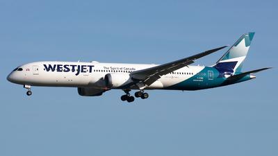A picture of CGYRS - Boeing 7879 Dreamliner - WestJet - © Hawkwind