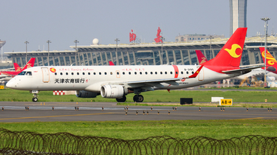 B-3195 - Embraer 190-100LR - Tianjin Airlines