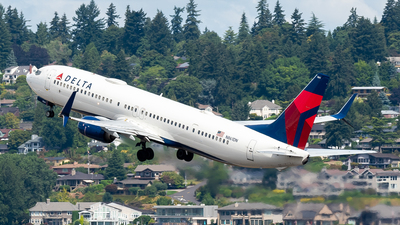A picture of N861DN - Boeing 737932(ER) - Delta Air Lines - © Nick Sheeder