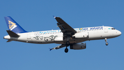P4-WAS - Airbus A320-232 - Air Astana