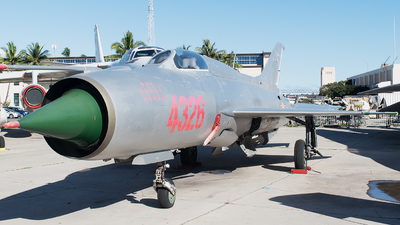 4326 - Mikoyan-Gurevich MiG-21 Fishbed - Vietnam - Air Force