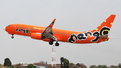 ZS-SJE - Boeing 737-85F - Mango Airlines